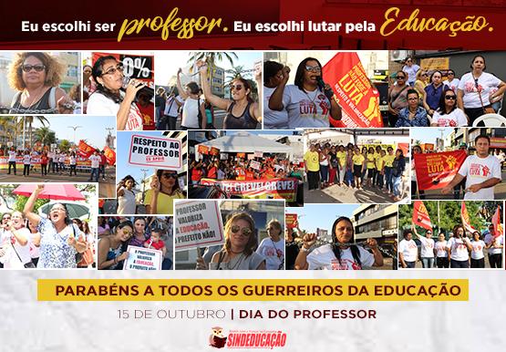 SINDEDUCAÇÃO DIA DOS PROFESSORES WEB