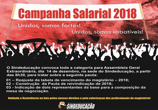 campanha salarial convocação 555 386